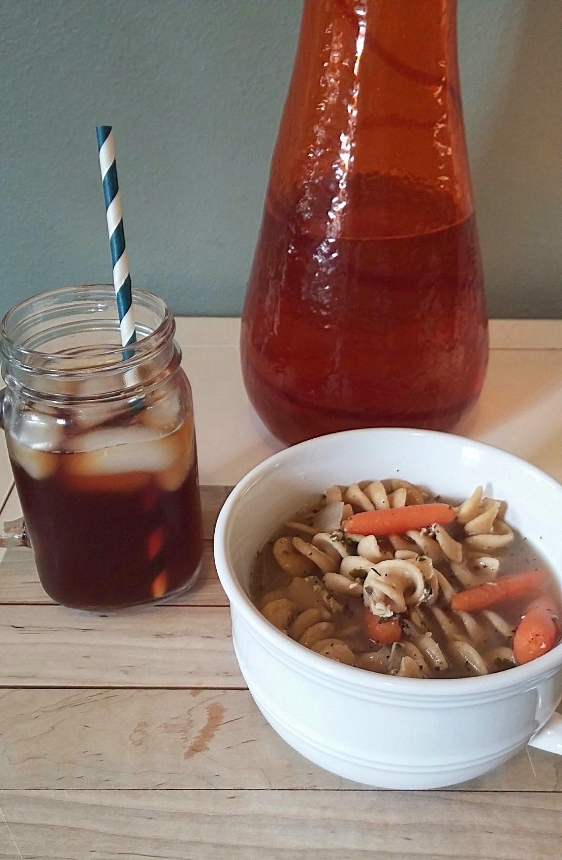 fast, easy, healthy chicken noodle soup recipe