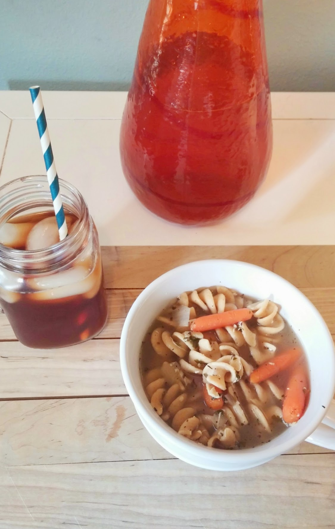 fast, easy, and healthy chicken noodle soup recipe