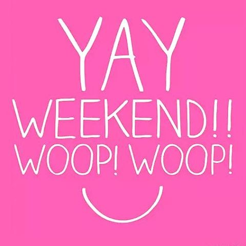 It has been a week! Let the weekend begin! hellip