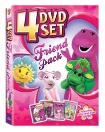 Featuring Barney, Angelina Ballerina & Fifi and the Flowertots