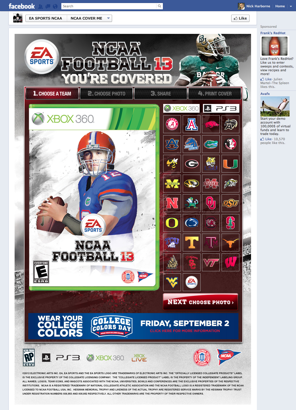Introducing NCAA Football 13 & You're Covered Free