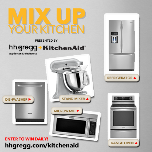 Win a KitchenAid Mixer or Kitchen Suite