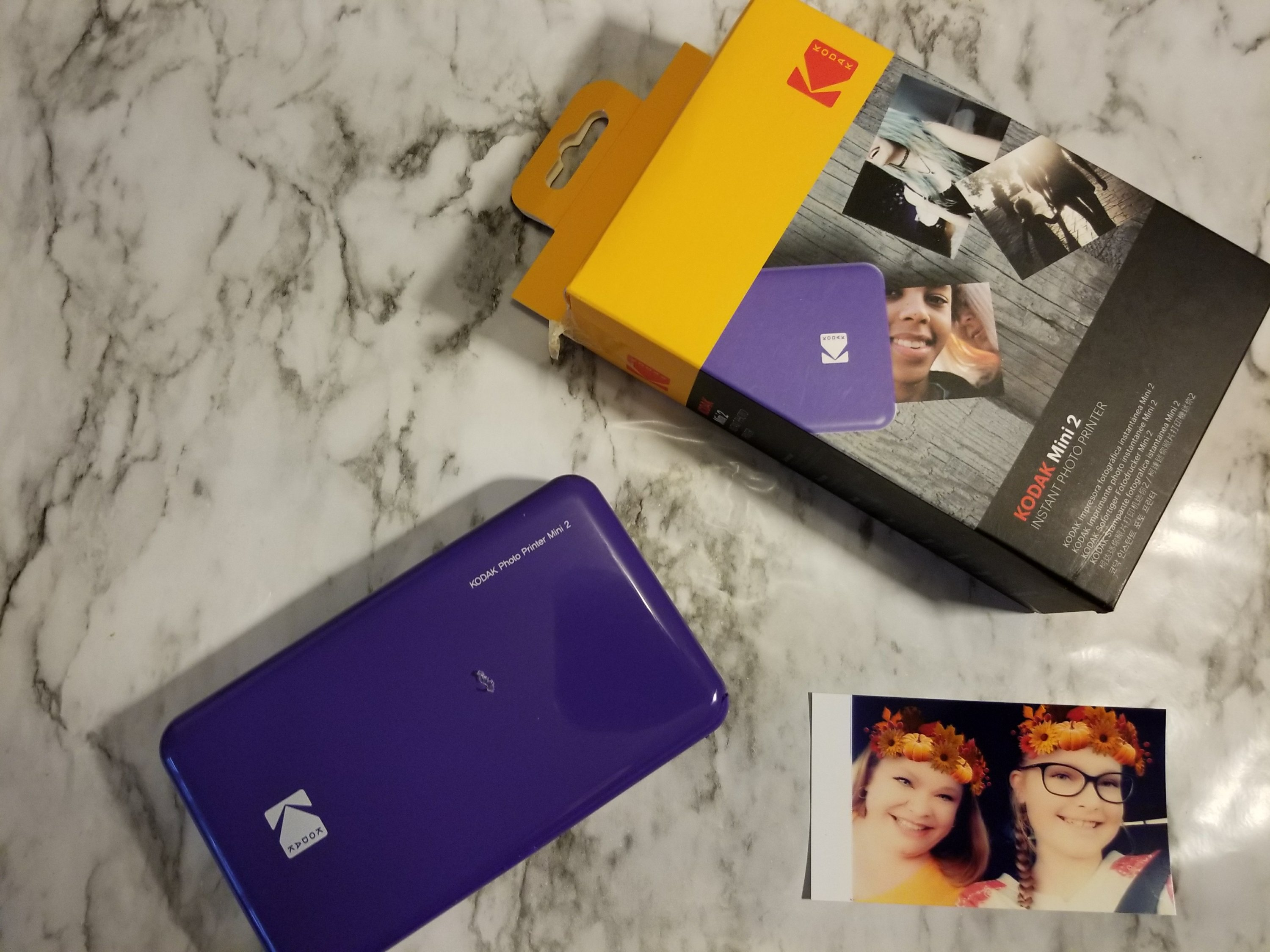 KODAK Mini 2 Review - How. to use it and see it in action.