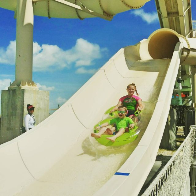 Have you been to schlitterbahnwaterparks ? They have a fabuloushellip