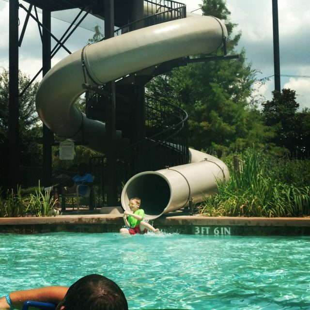 Life is an adventure! Take the slide! Take the plunge!hellip