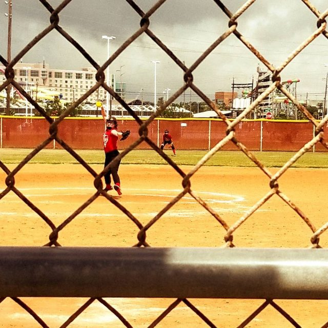 Watched my girl pitch today She truly amazes me eachhellip