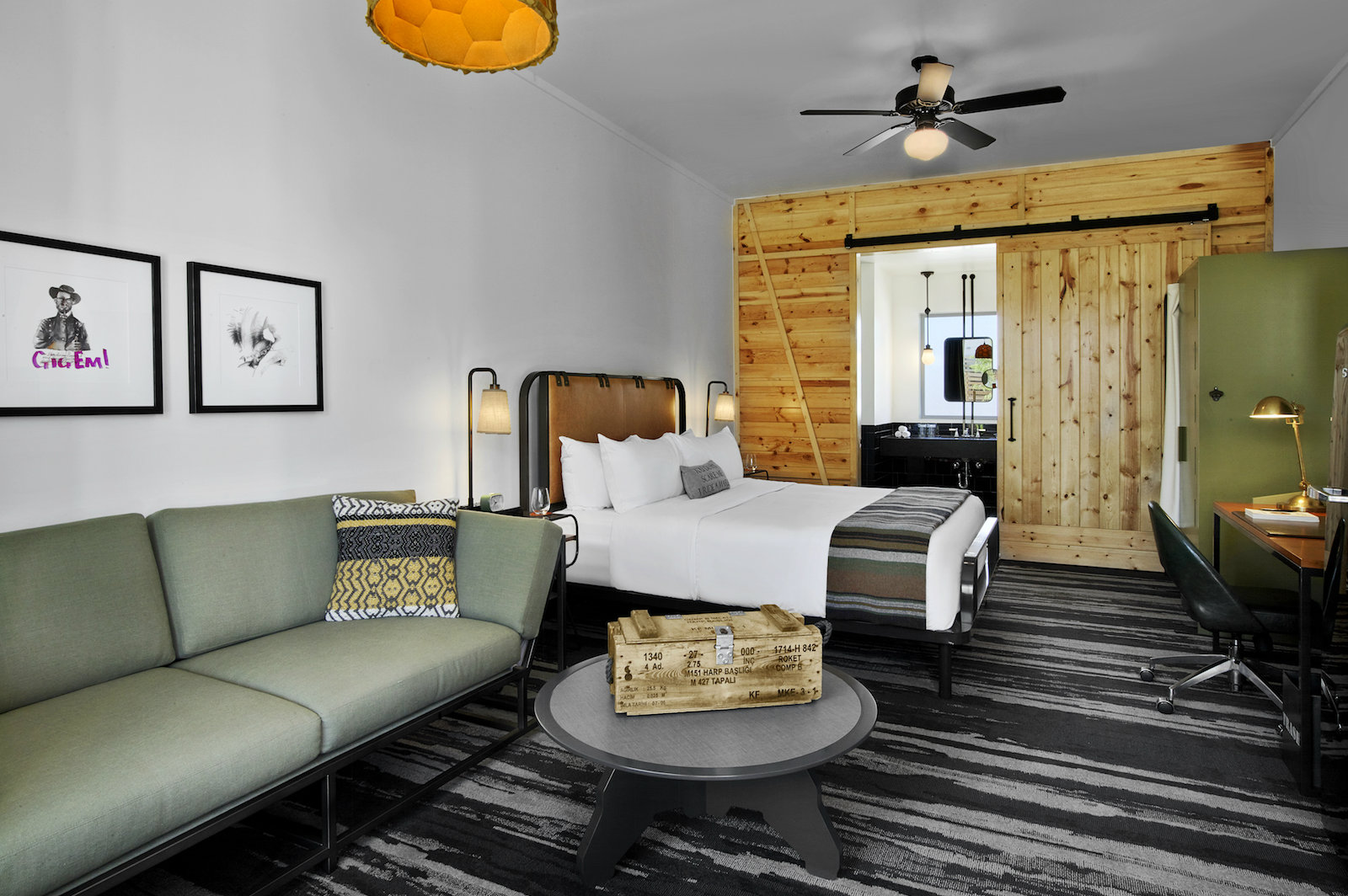Comfort and Luxury Meet At The Cavalry Court in College Station