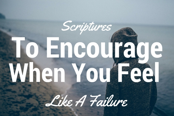 scriptures about failure