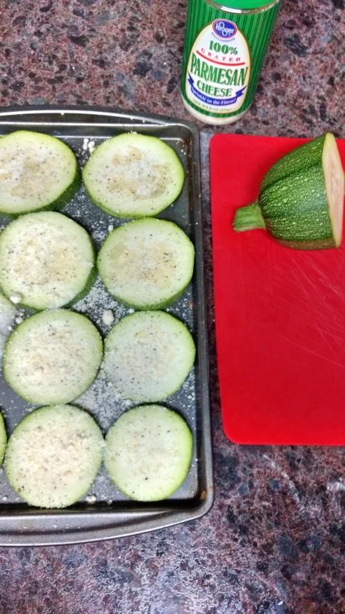 Amazing Parmesan Baked Zucchini Recipe
