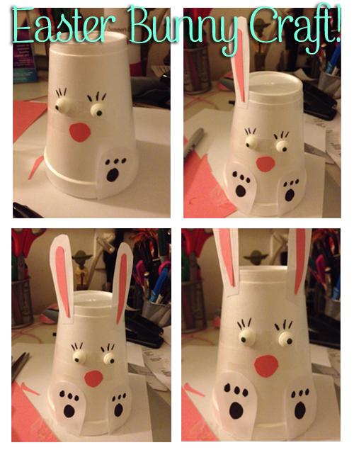 Easter Bunny DIY Craft