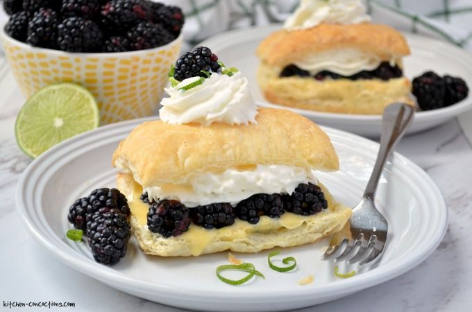 Sprig Ideas for Recipes: BLACKBERRY LIME NAPOLEON RECIPE