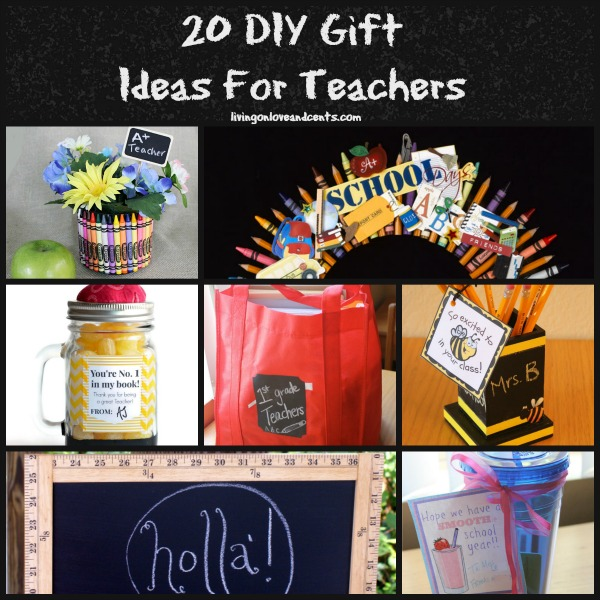 Easy Crafts 20 Diy Gift Ideas For Teachers