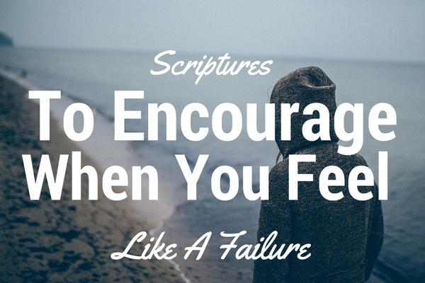 scriptures about failure