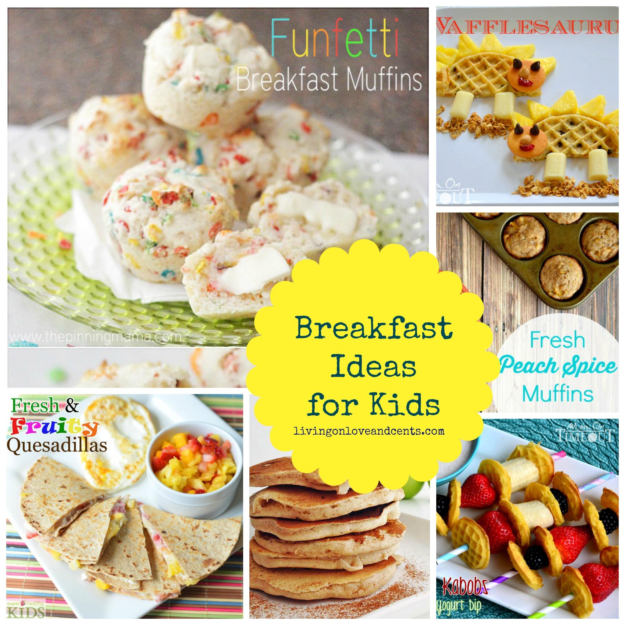 easy school morning breakfast ideas for kids